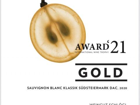 awc Gold, Sauvignon blanc Klassik Südsteiermark DAC, 2020, Weingut Schlögl